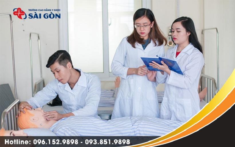 Kết quả hình ảnh cho Cao đẳng Y dược Sài Gòn điều dưỡng