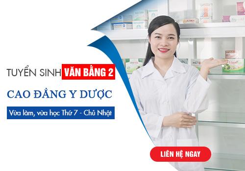 Thông báo tuyển sinh Văn bằng 2 Cao đẳng y dược Sài Gòn