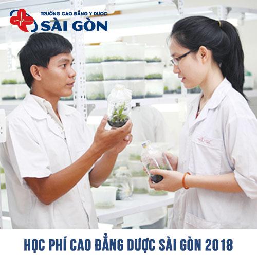 Học phí Cao đẳng Dược TPHCM năm 2018