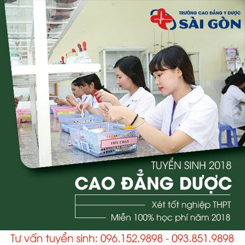 Trường Cao đẳng y dược Sài Gòn tuyển sinh theo hình thức xét tuyển