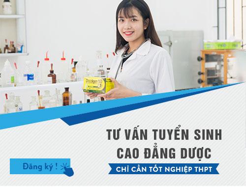 Trường Cao đẳng y dược Sài Gòn tuyển sinh Cao đẳng dược