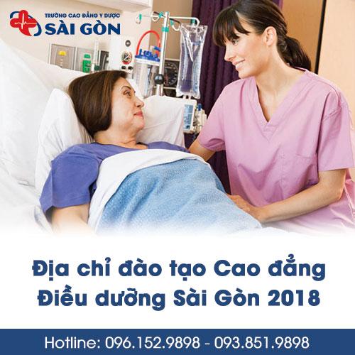 Địa chỉ đào tạo Cao đẳng Điều dưỡng Sài Gòn