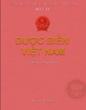 Sách dược điển Việt Nam 4