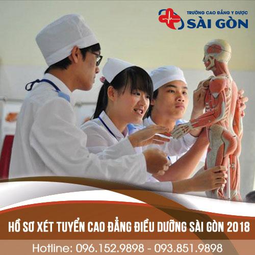 Hồ sơ xét tuyển Cao đẳng Điều dưỡng 2018