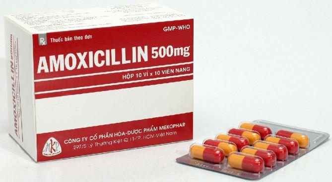 Thuốc Amoxicillin dạng viên nén