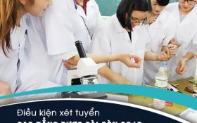 Điều kiện xét tuyển Cao đẳng Dược Hà Nội năm 2018