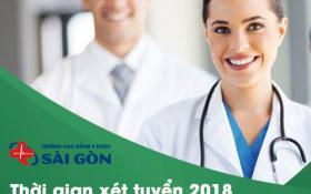 Thời gian nộp hồ sơ học Cao đẳng Điều dưỡng TPHCM 2018