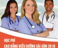 Học phí Cao đẳng Điều dưỡng Hà Nội năm 2018
