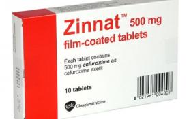 Zinnat - thuốc điều trị bệnh nhiễm khuẩn có tốt không?